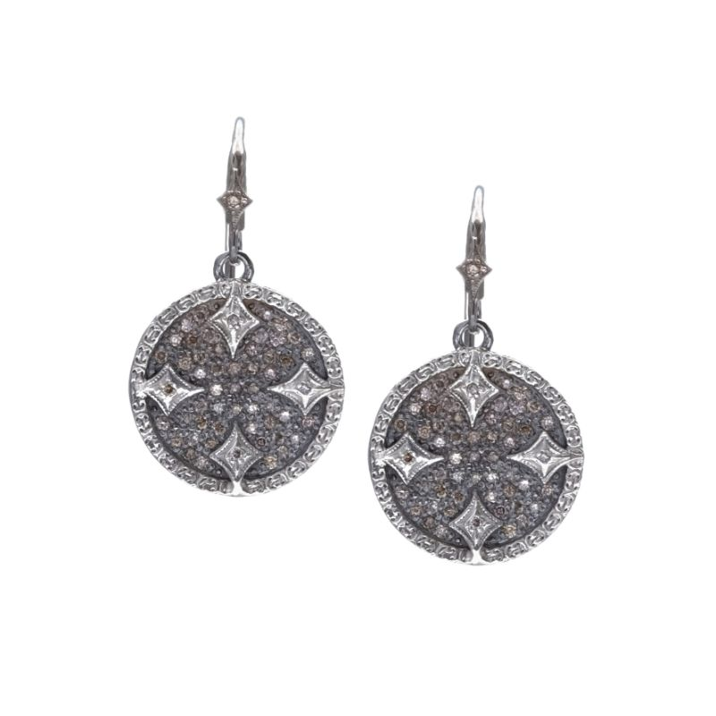New World Small Circle Constellation Drop Earrings