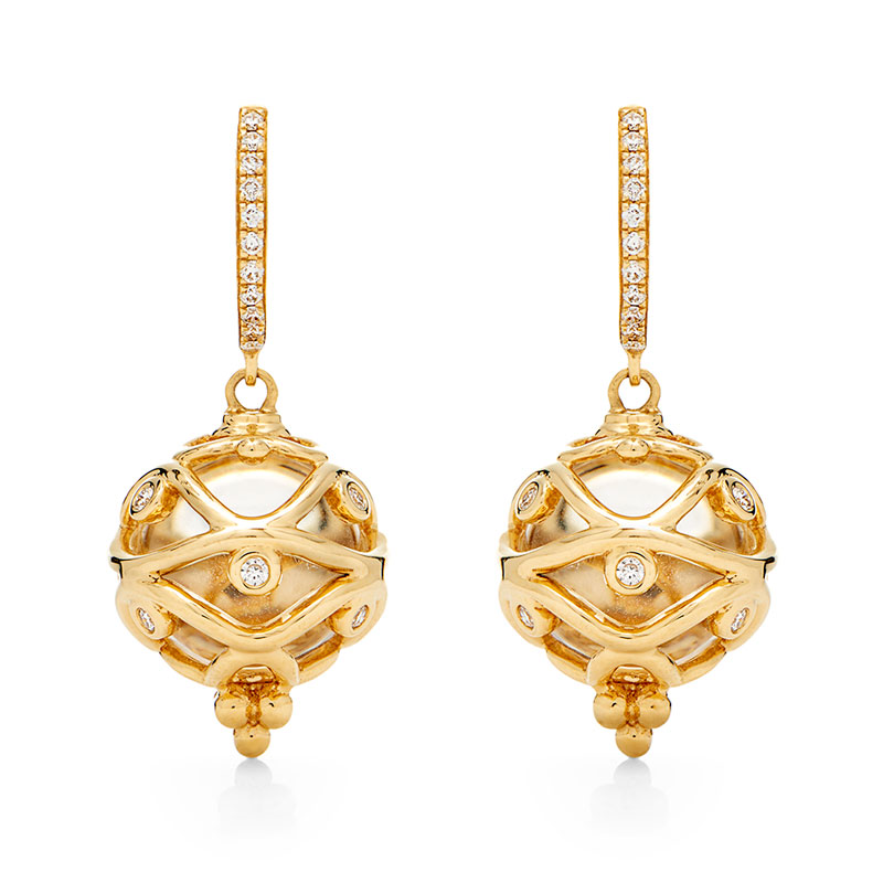 Temple St. Clair Theodora Amulet Earrings