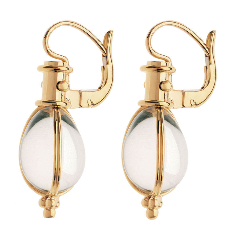 Temple St. Clair Classic Amulet Earrings