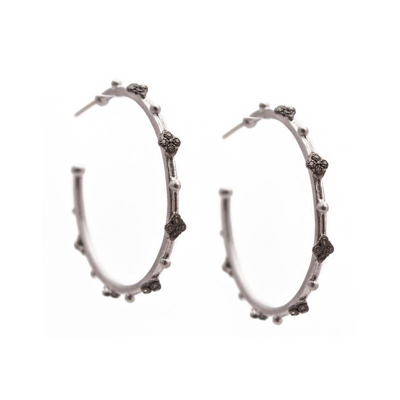 New World Diamond Crivelli 35Mm Hoop Earring