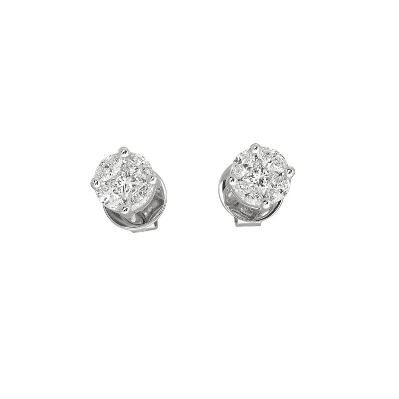 Jye's Marquise Cluster Earrings