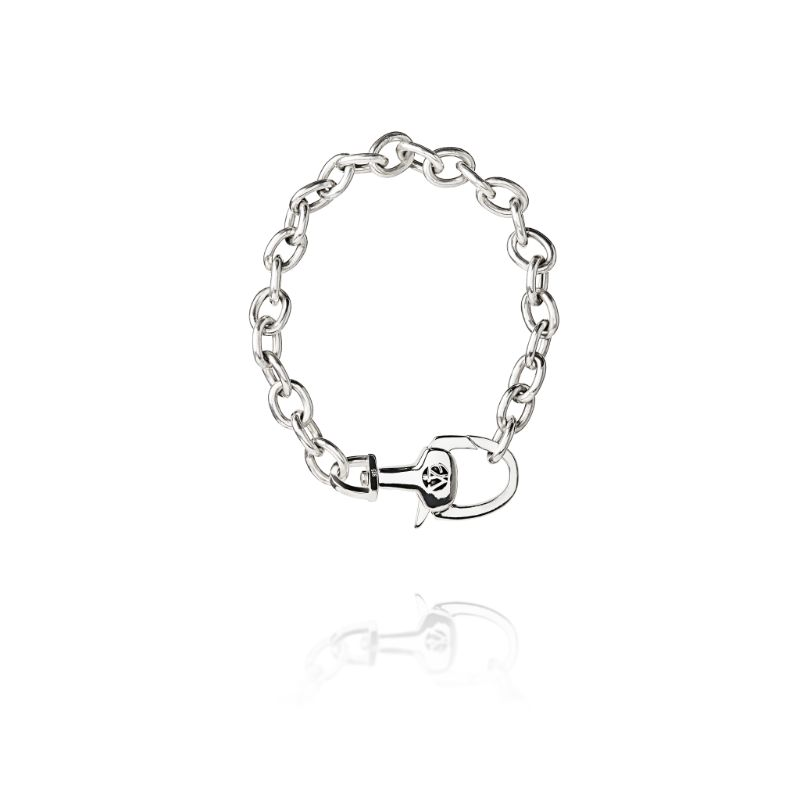 Vincent Peach Equestrian Stirrup Lock Bracelet