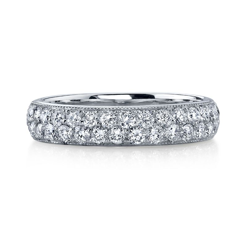 Deutsch Signature Domed Pave Band