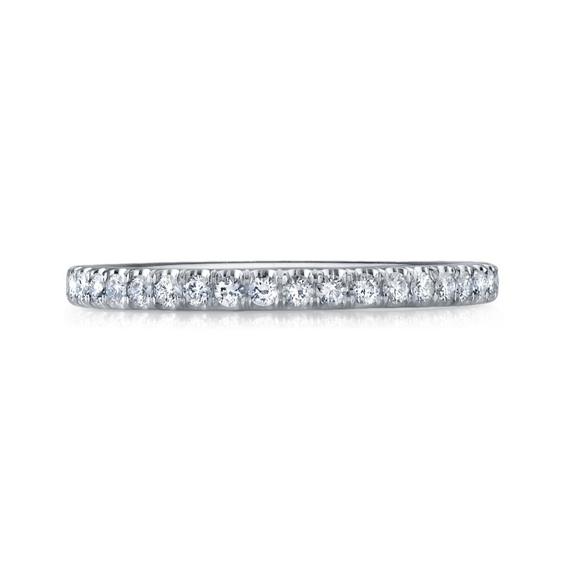 Deutsch Signature U Prong Micro Pave Band