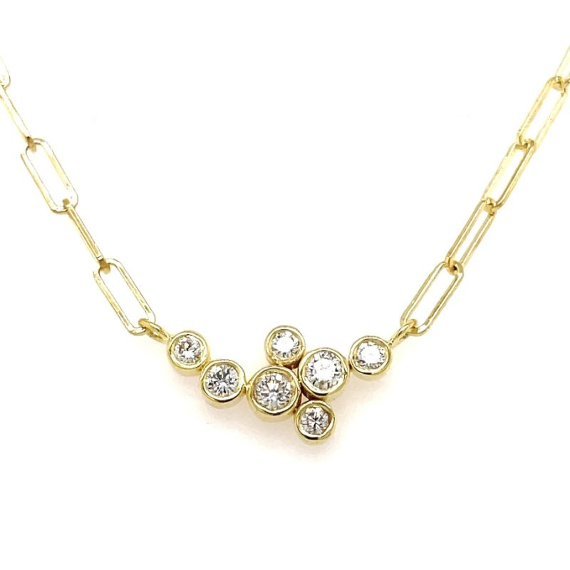 Lauren K Bubble Bea Diamond Necklace