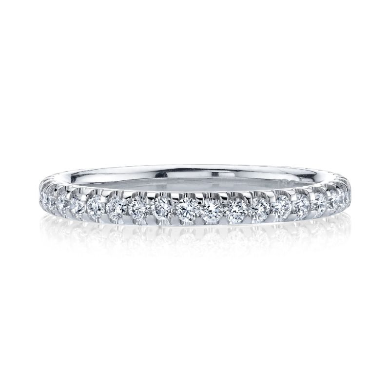 Deutsch Signature U Prong Set Comfort Fit Eternity Band