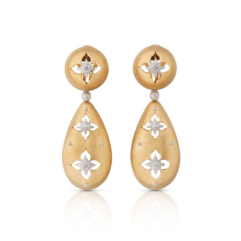 Buccellati Macri Giglio Pendant Earrings