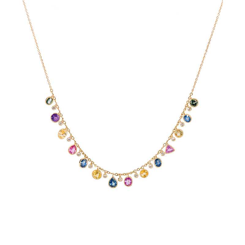 John Apel Shimmer Diamond Necklace