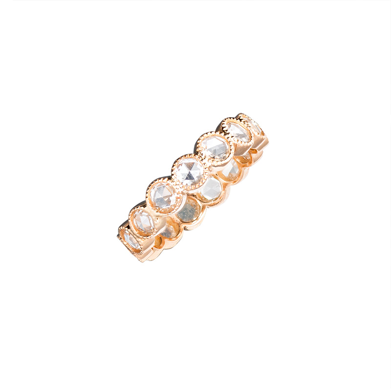 John Apel Rose Cut Diamond Ring