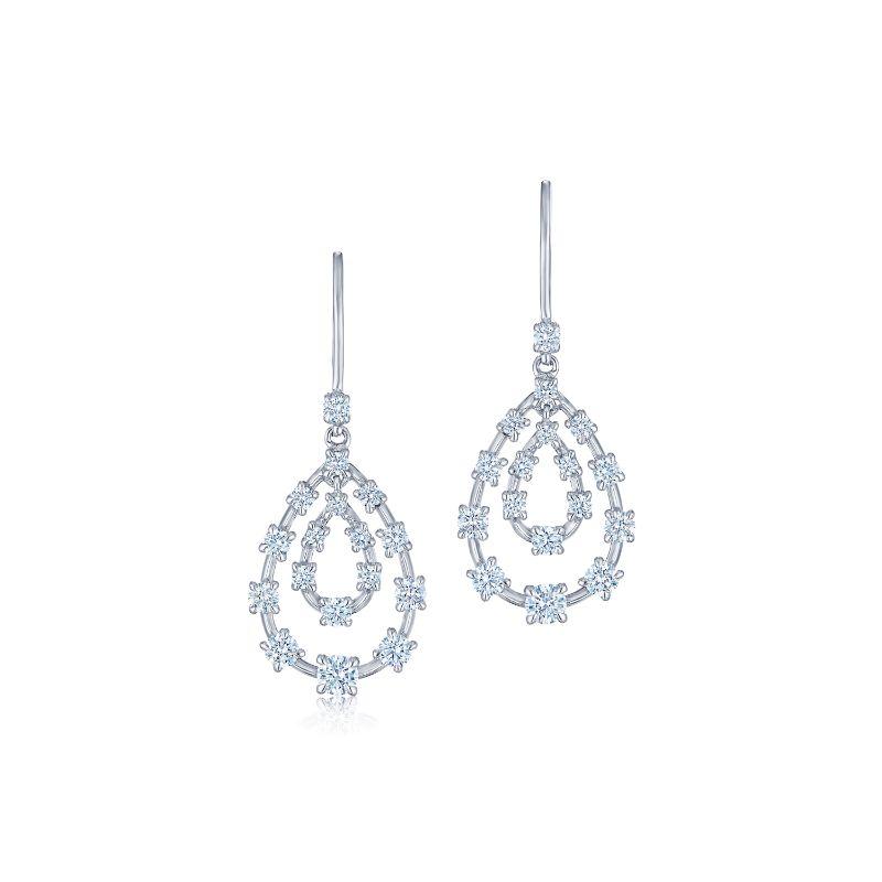 Kwiat Pendant Starry Night Diamond Earrings