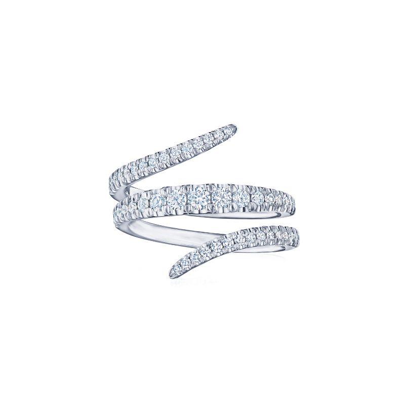 Kwiat Design Vine Diamond Ring