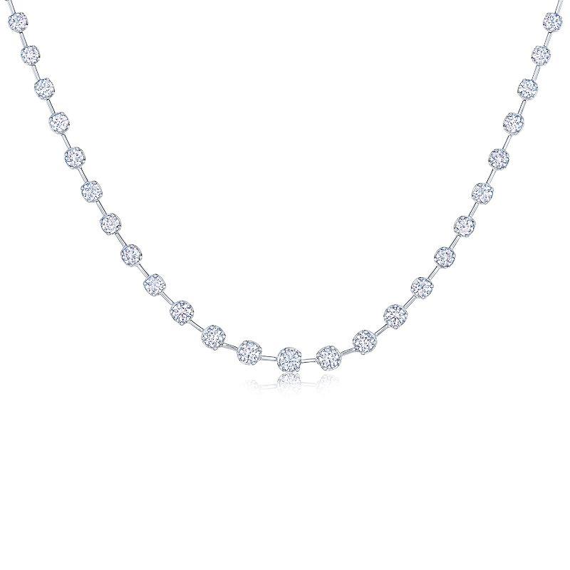 Kwiat Riviere Starry Night Diamond Necklace