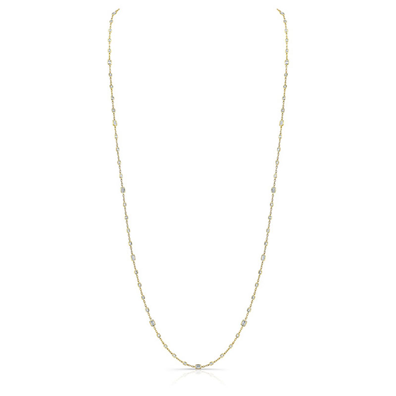 Norman Silverman Diamonds by the Yard Necklace