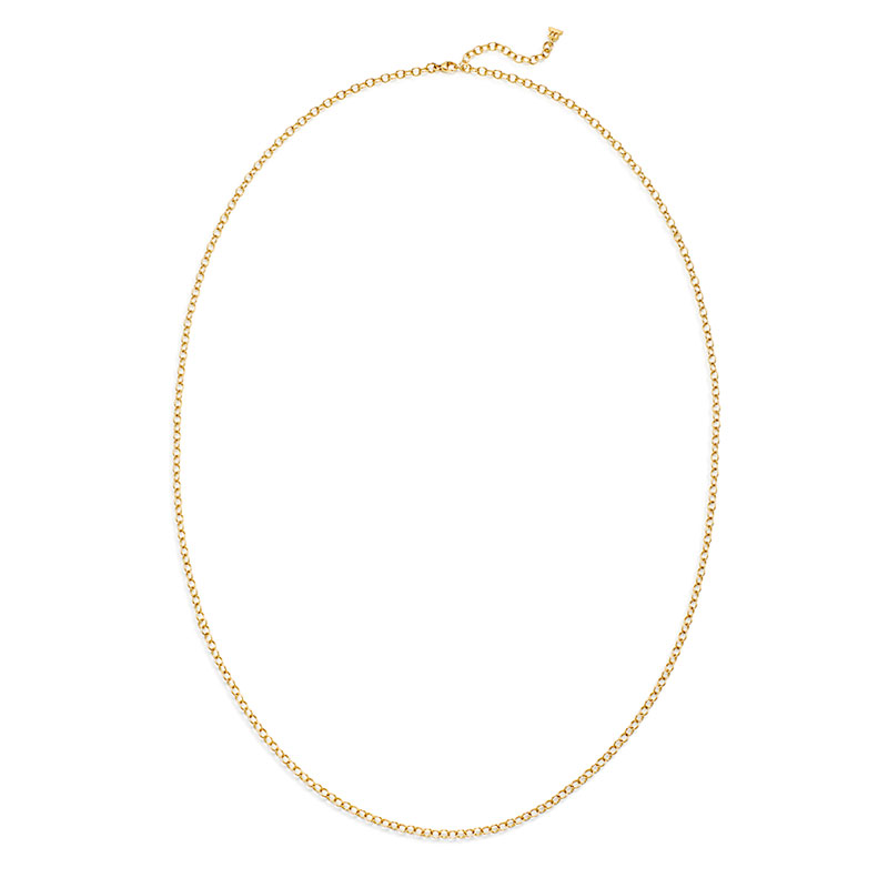 Temple St. Clair Extra Small Oval Chain