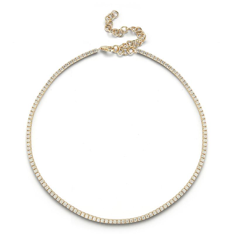 Deutsch Signature Diamond Choker Necklace