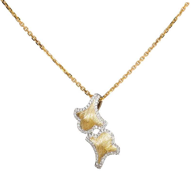 Jye's Diamond Florentine Pendant