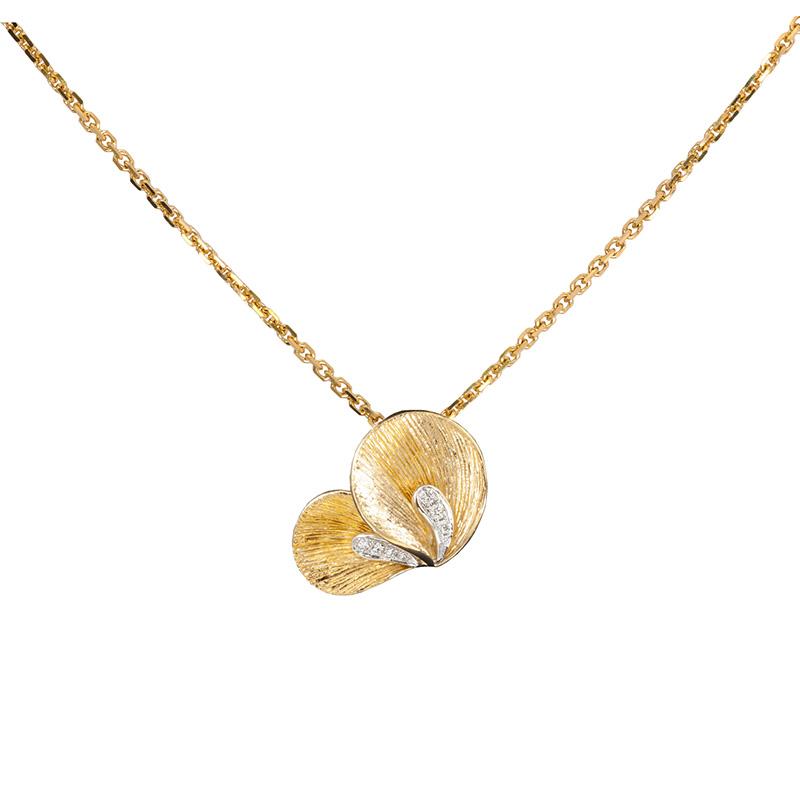 Jye's Marquise Cluster Diamond Pendant