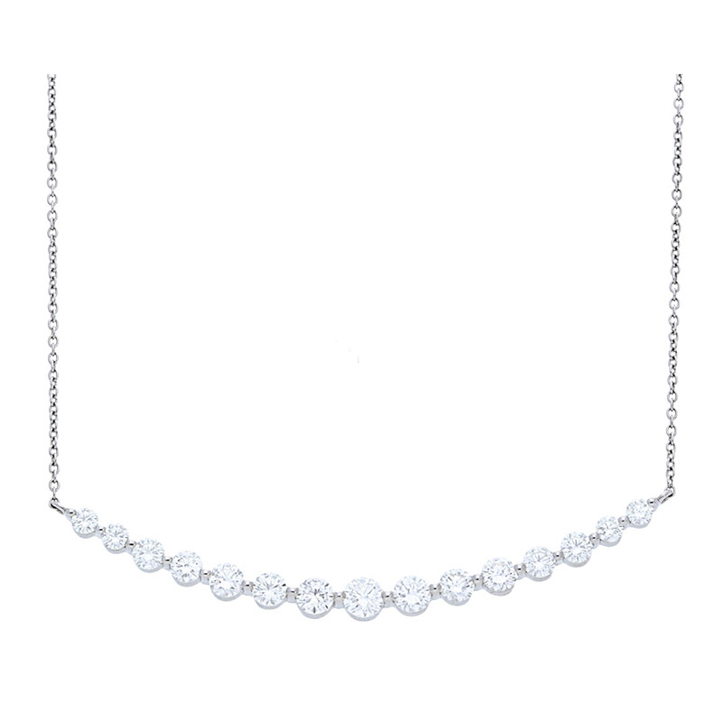 Deutsch Signature 15 Graduating Diamonds Necklace