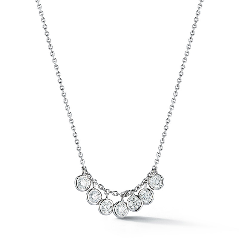 Deutsch Signature 7 Diamond Dangle Necklace