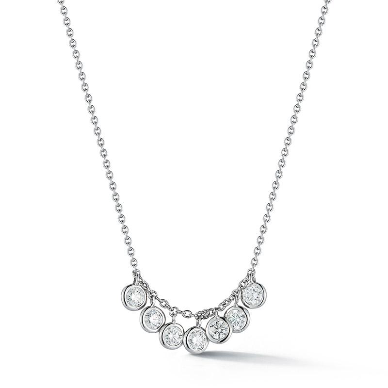 Deutsch Signature 7 Diamond Dangle Necklace
