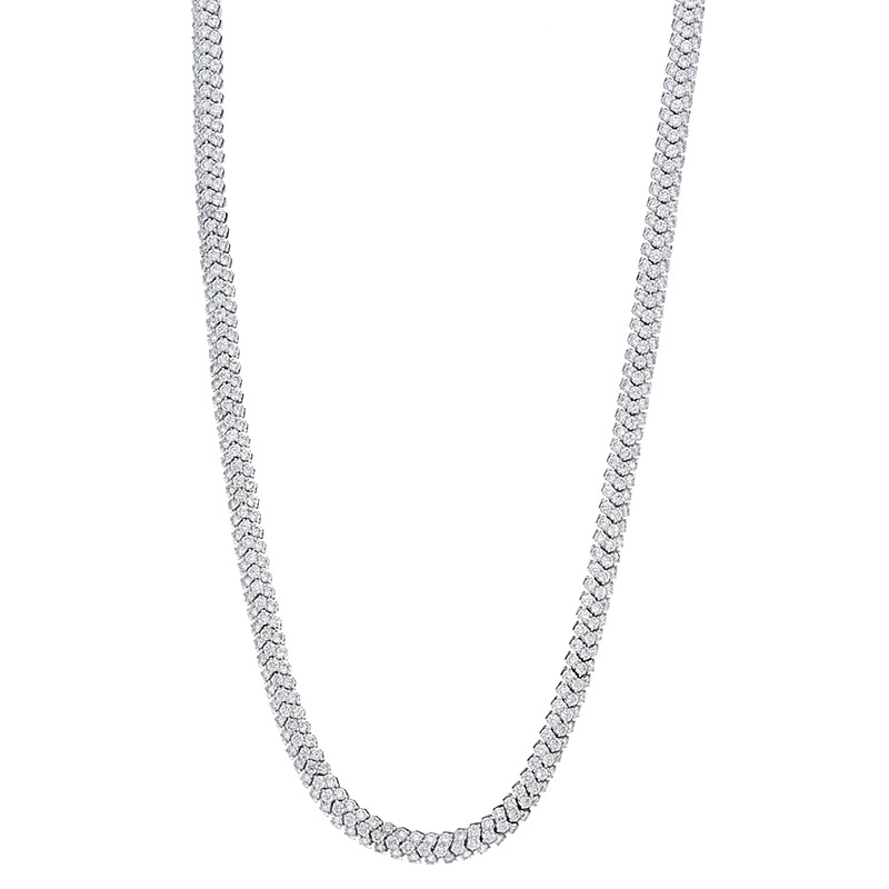 Deutsch Signature Flexiable Diamond Necklace