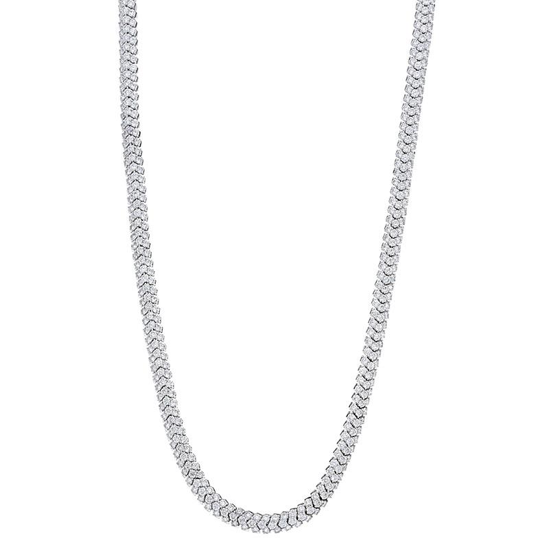 Deutsch Signature Flexiable Diamond Necklace