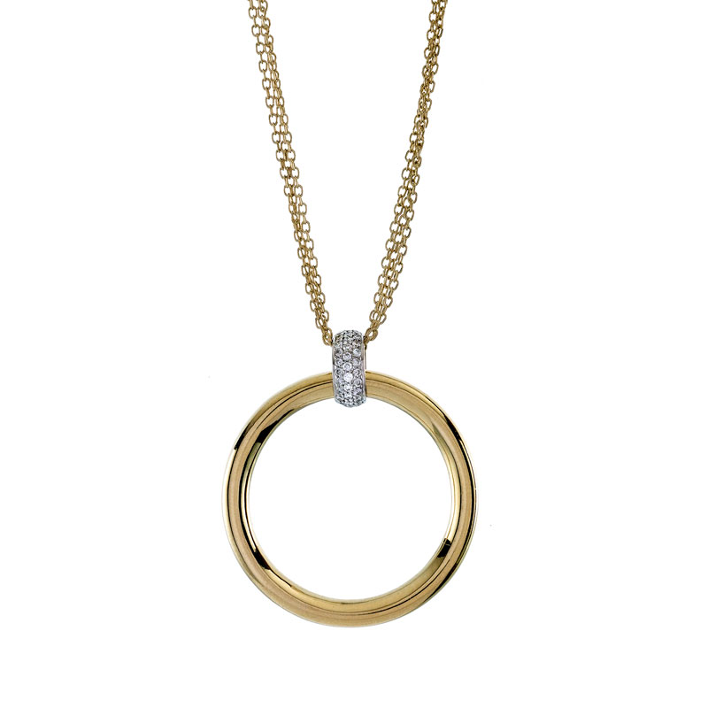 Rudolf Friedmann Gold Diamond Pendant
