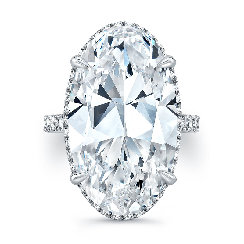 Norman Silverman Diamond Engagement Ring