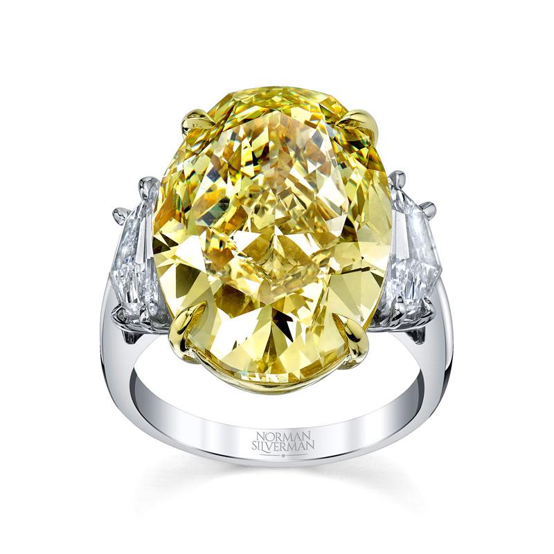 Deutsch Signature Yellow Diamond Ring