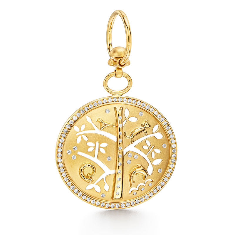 Temple St. Clair Small Tree of Life Pendant