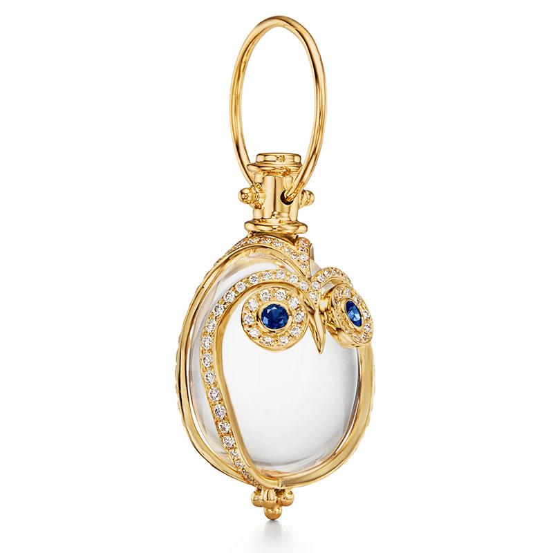 Temple St. Clair Owl Amulet