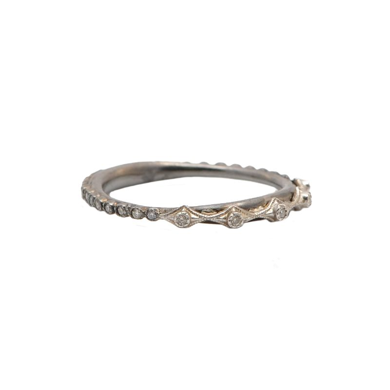 New World Multi Crivelli Stack Ring