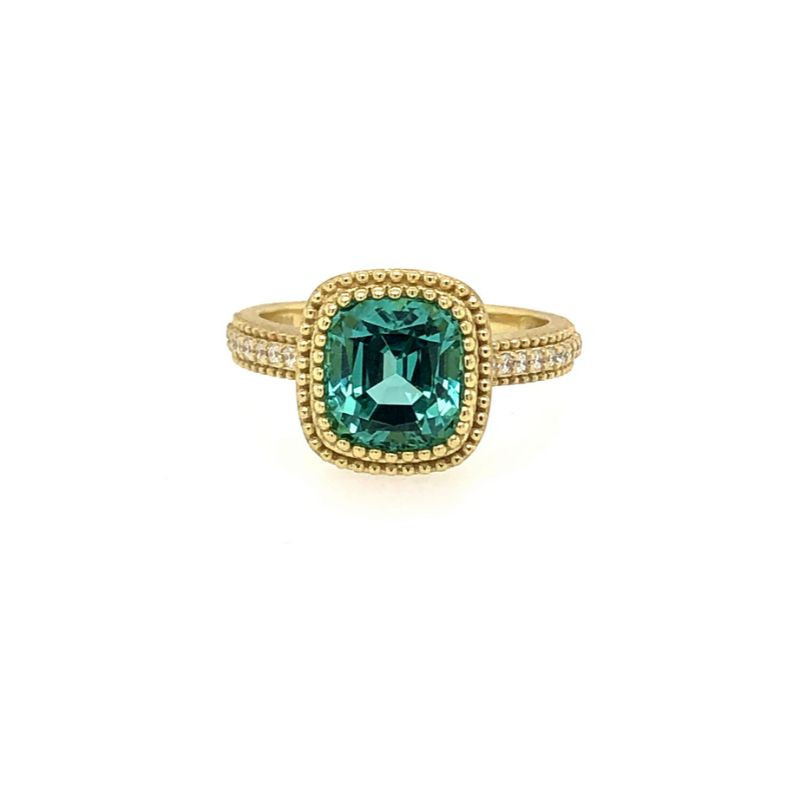 Lauren K Beatrice Emerald Ring