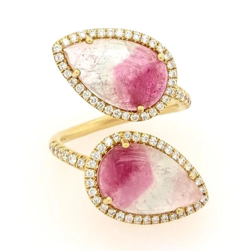 Lauren K Diya Watermelon Tourmaline Ring