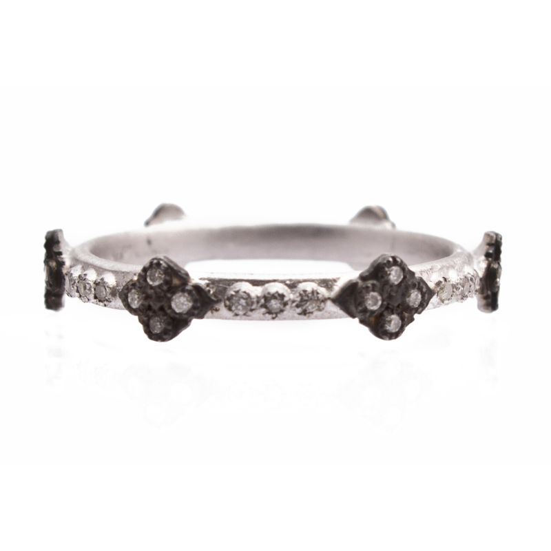 New World Diamond Crivelli Stack Ring