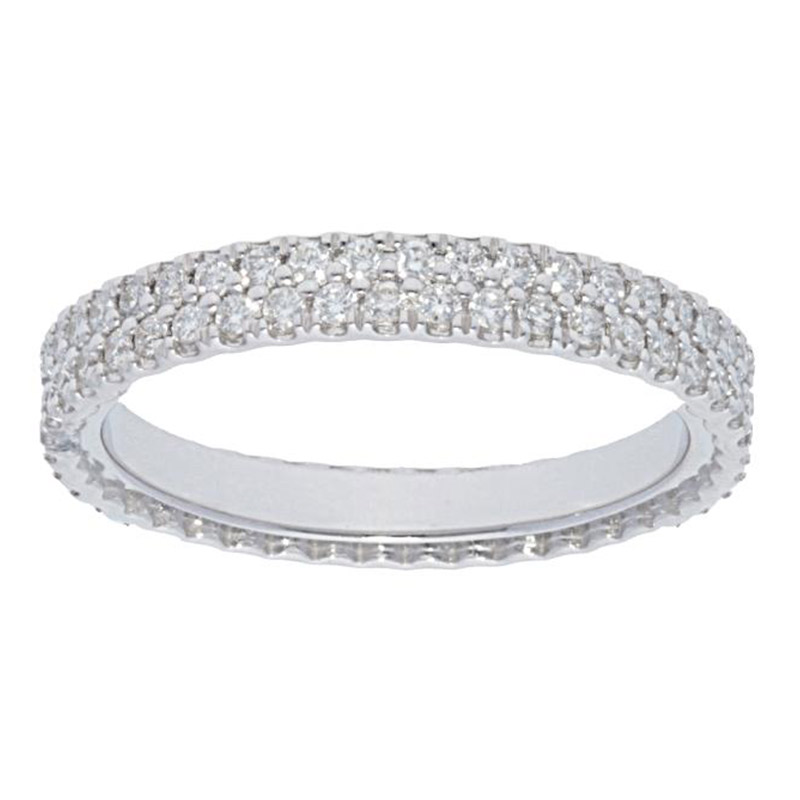 Deutsch Signature 2 Row Eternity Diamond Band