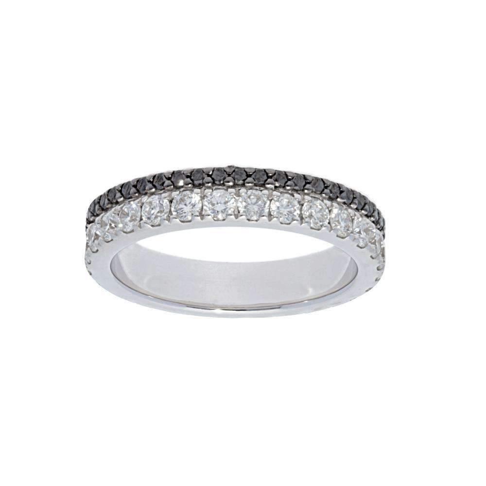Deutsch Signature S/L 2 Row Eternity Diamond Ring
