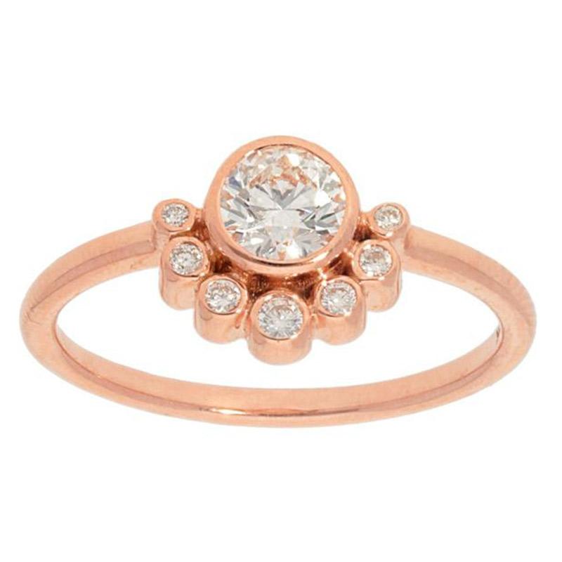 Deutsch Signature Multi Diamond Bezel Ring