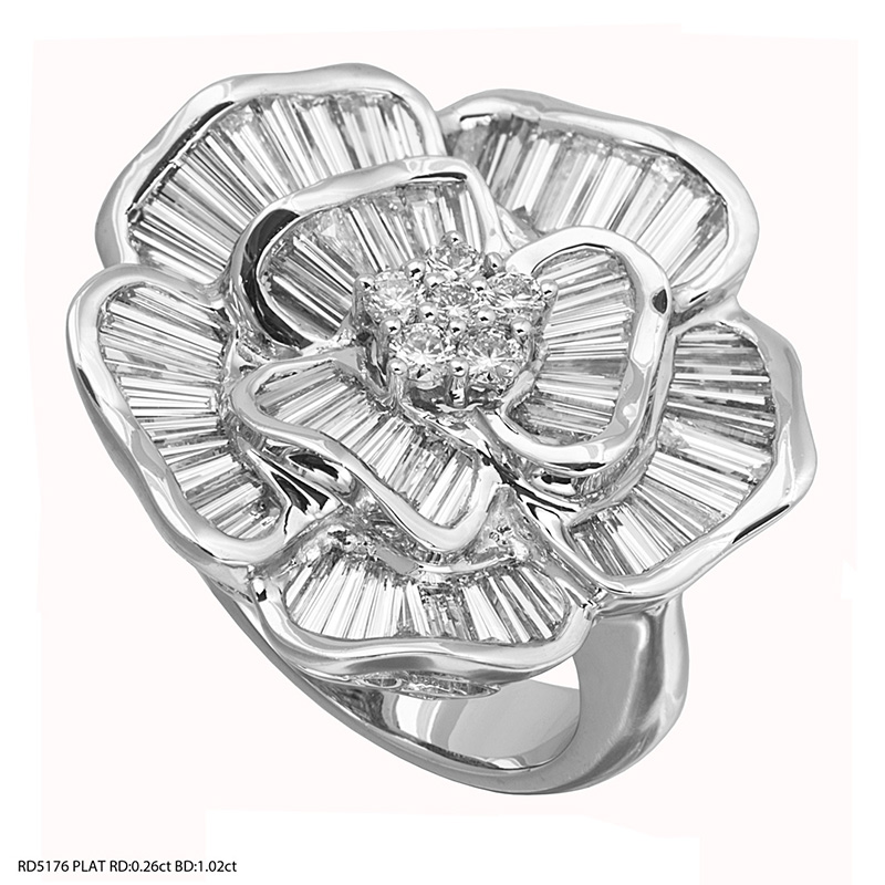 Jye's Diamond Flower Ring