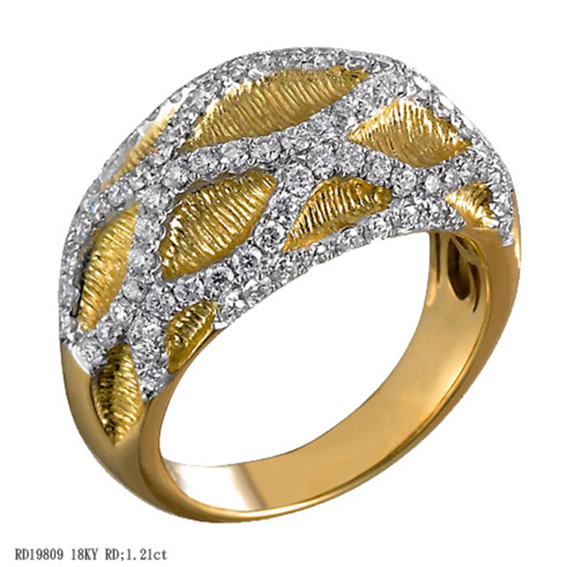 Jye's Diamond Crossover Ring