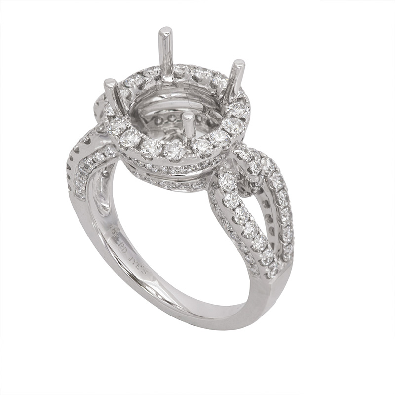 Jye's Halo Diamond Semi Mounting