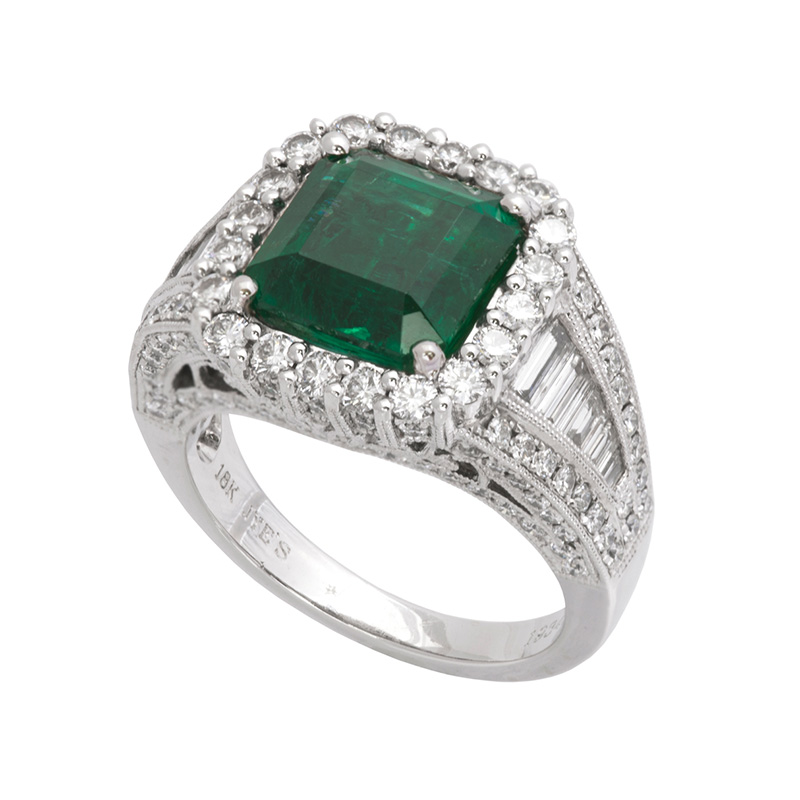 Jye's EC Emerald and Diamond Ring