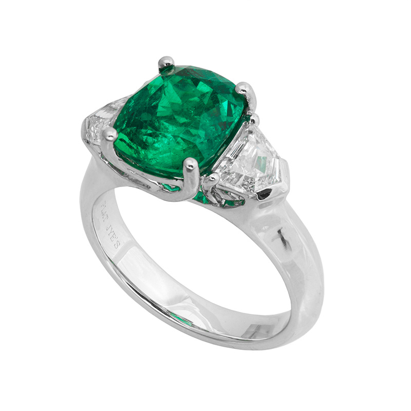 Jye's Emerald and Fancy Diamond Rings
