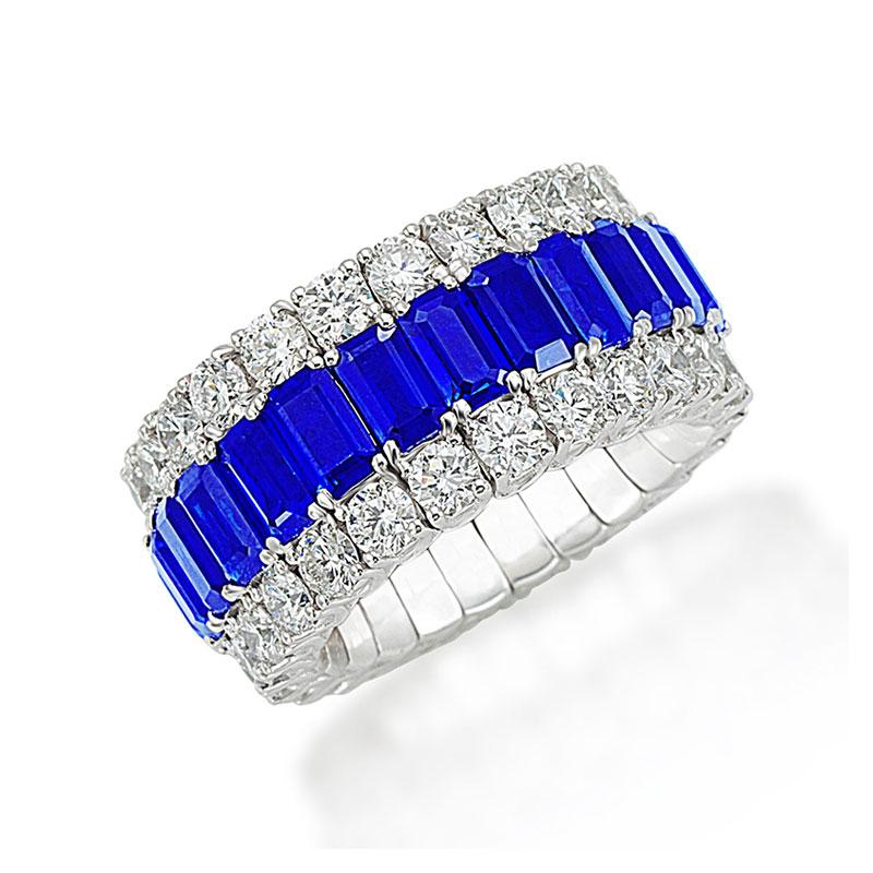 Xpandable™  Sapphire ring