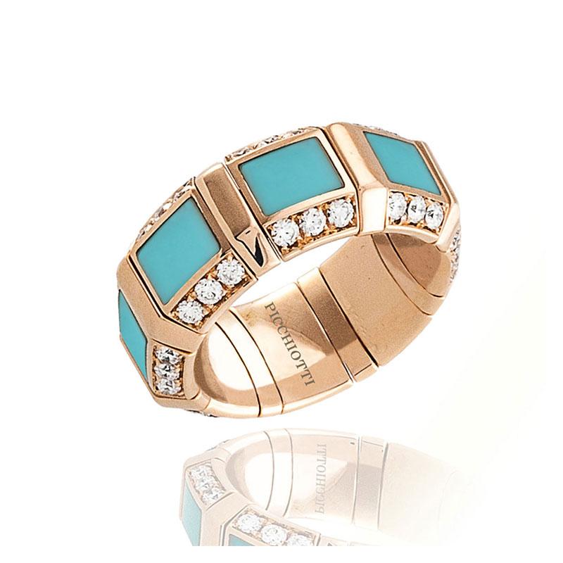 Xpandable™ Turquoise Ring