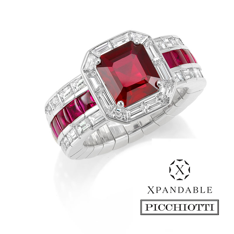 Xpandable™  Ruby ring