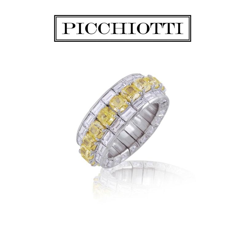Xpandable™  Yellow Diamond ring