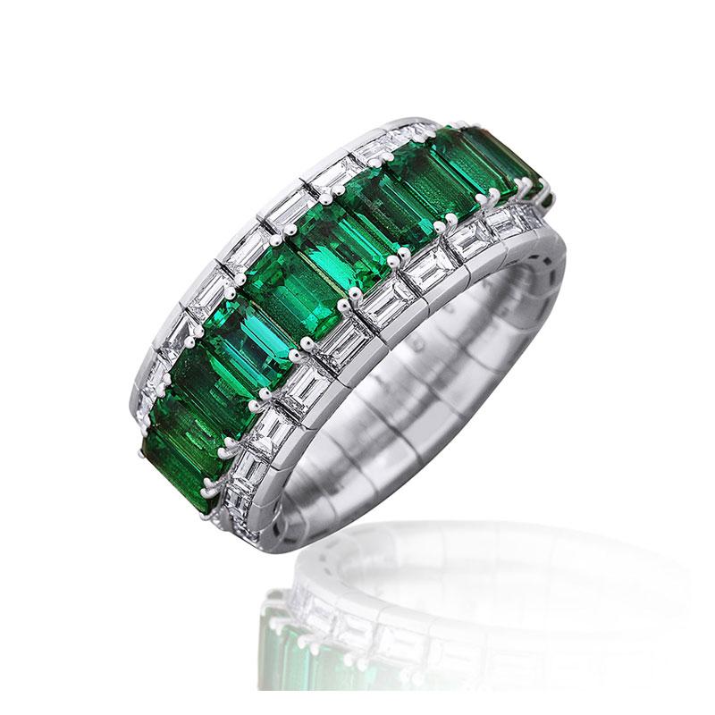 Xpandable™  Emerald ring