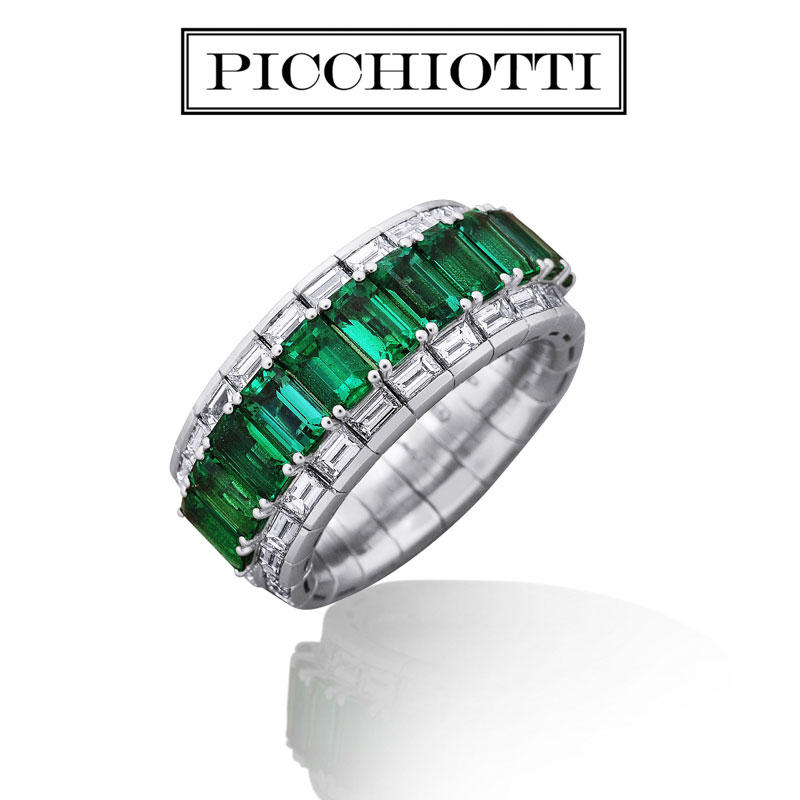 Xpandable™  Emerald ring