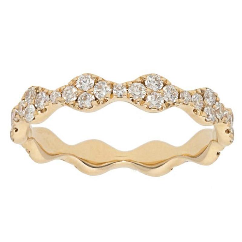 Deutsch Signature Alternating Diamond Cluster Ring